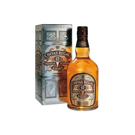 6ce357ba75a2 Chivas Regal Scotch Whisky Blend 12 ans d'âge 40° Bouteille 70 CL ...