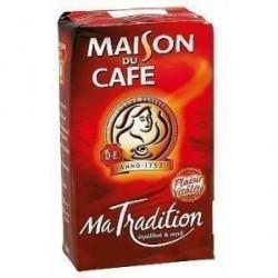 12 Paquets de Café Moulu Tradition Maison Du Café 250 G