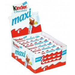36 Barres Chocolatées de Kinder Maxi 36 x 21 G