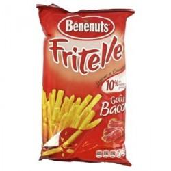6 Paquets de Fritelle Bénenuts Goût Bacon 6 x 80 G