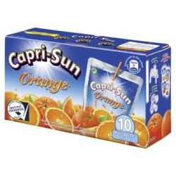 10 Briques de Capri-Sun Orange 10 x 20 CL