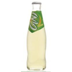 24 Bouteilles de Gini Lemon Verre Consigné 24 x 25 CL