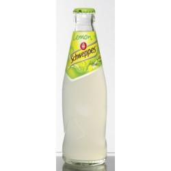 24 Bouteilles de Schweppes Lemon Verre Consigné 24 x 25 CL