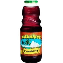6 Bouteilles de Caraïbos Cranberry 6 x 1 L