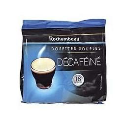 18 Dosettes de Café Décaféiné Rochambeau
