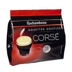 18 Dosettes de Café Corsé Rochambeau