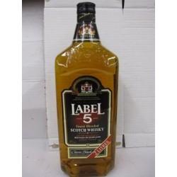 Magnum de Whisky Label 5 40° 2 L