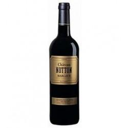 6 Bouteilles de Vin Bordeaux Rouge Château Notton Margaux 6 x 75 CL