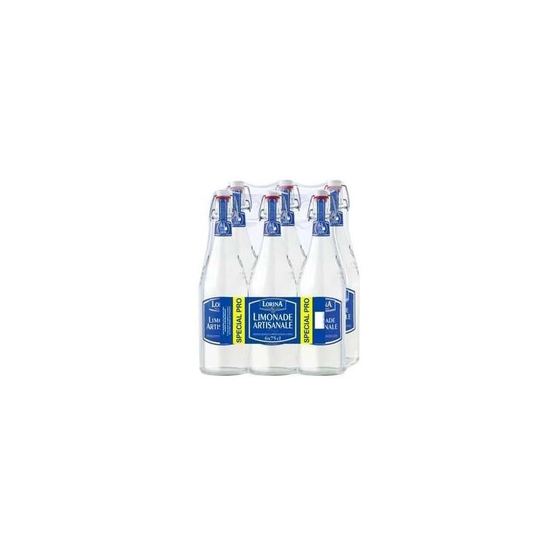 6 bouteilles de limonade artisanale en verre lorina 6 x 75 cl grossiste boissons fournisseur. Black Bedroom Furniture Sets. Home Design Ideas