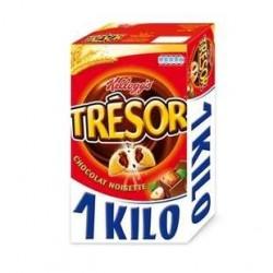 1 Kilo de Trésor Chocolat Noisettes Kellogg's 1 KG