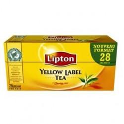 12 Paquets de Thé Lipton Yellow 12 x 25 Sachets
