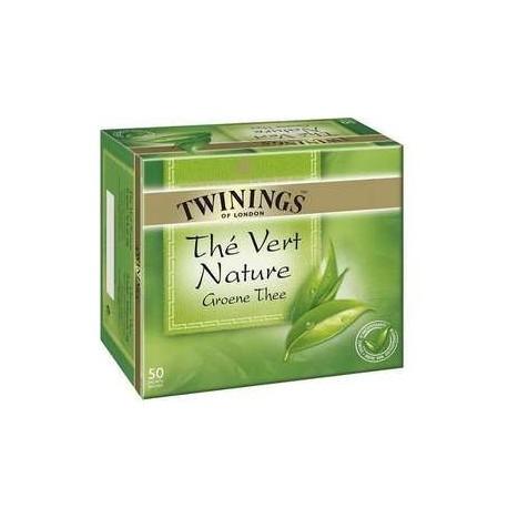 50 Sachets de Thé Vert Nature Twinings