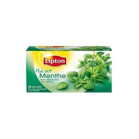 Bien connu 6 Paquets de Thé Vert Menthe Lipton 6 x 25 Sachets - Grossiste  WD54