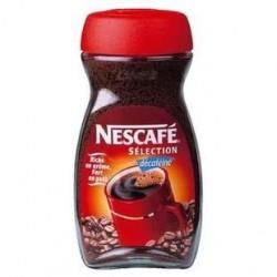 12 Boites de Café Soluble Décaféiné Nescafé Sélection 12 x 50 G