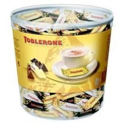 150 Mini Toblerone Chocolat au lait, Blanc et Noir 150 x 6 G