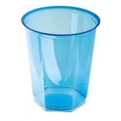 25 Gobelets en Plastique Bleu Nupik 25 CL