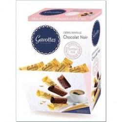 150 Crèpes Dentelles au Chocolat Noir Gavottes 750 G