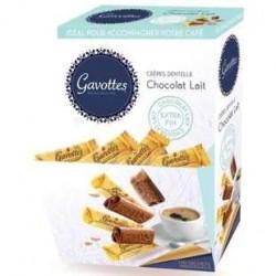 150 Crèpes Dentelles au Chocolat au Lait Gavottes 750 G