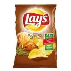 20 Paquets de Chips Poulet Thym Lay's 20 x 145 G