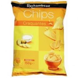 20 Paquets de Chips Craquantes Rochambeau 20 x 150 G