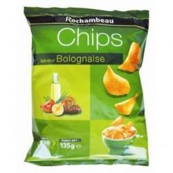 20 Paquets de Chips Bolognaise Rochambeau 20 x 135 G