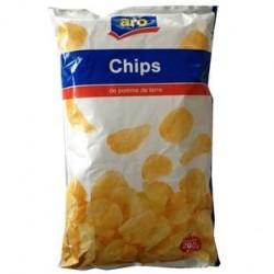 28 Paquets de Chips Nature Aro 28 x 200 G