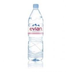 6 Bouteilles d'Eau Evian 6 x 1,5 L