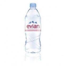 6 Bouteilles d'Eau Evian 6 x 1 L
