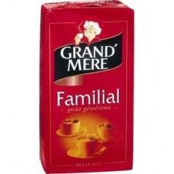 12 Paquets de Grand Mère Familial Café Moulu Mélange Classique 12 x 250 G