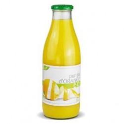 6 Bouteilles de Pur Jus d'Orange Bio 6 x 1 L