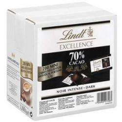 200 Mini Excellence Noir 70% de Cacao Lindt 200 x 5.5 G