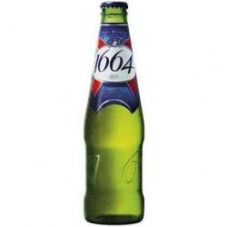 1664 Bière Blonde Prémium 5,5° Bouteille 20 x 25 CL