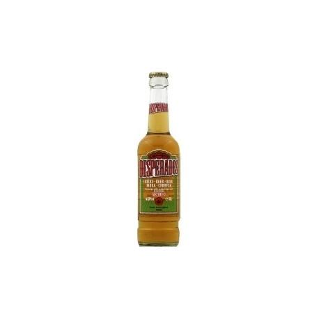 24 Bouteilles de Desperados Aromatisée à la Téquila Blonde 5,9° 24 x 33 CL