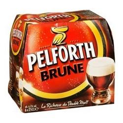 24 Bouteilles de Pelforth Brune 24 x 25 CL