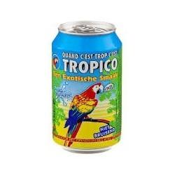 24 Canettes de Tropico Exotique 33 CL