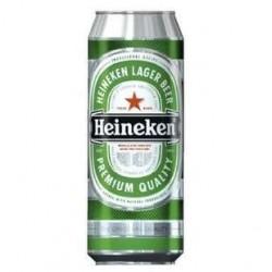 24 Canettes de Bière blonde 5 % Heineken 24 x 50 CL