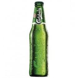 24 Bouteilles Bière Blonde CARLSBERG 5% 24 x 25 CL
