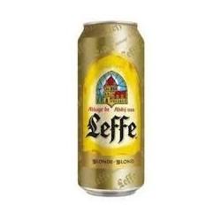 24 Canettes d'Abbaye de Leffe Bière Blonde 24 x 50 CL