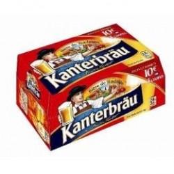 20 Bouteilles Kanterbräu Bière Blonde 20 x 25 CL
