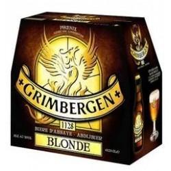 24 Bouteilles de Grimbergen Bière Blonde 24 x 33 CL