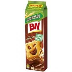 12 Paquets de BN Fourrés au Chocolat au Lait 12 x 300 G