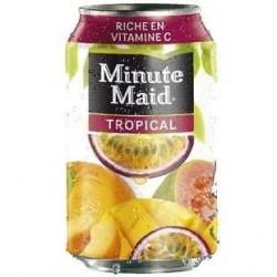 24 Canettes de Minute Maid Tropical 24 x 33 CL