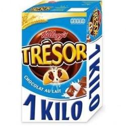 1 Kilo de Trésor Chocolat au Lait Kellogg's 1KG