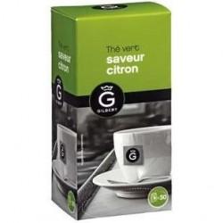 30 Sachets de Thé Vert Citron Gilbert