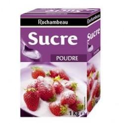 6 Paquets de Sucre en Poudre Rochambeau 6 x 1 KG