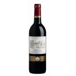 6 Bouteilles de Vin Bordeaux Rouge Château de Costis 6 x 75 CL