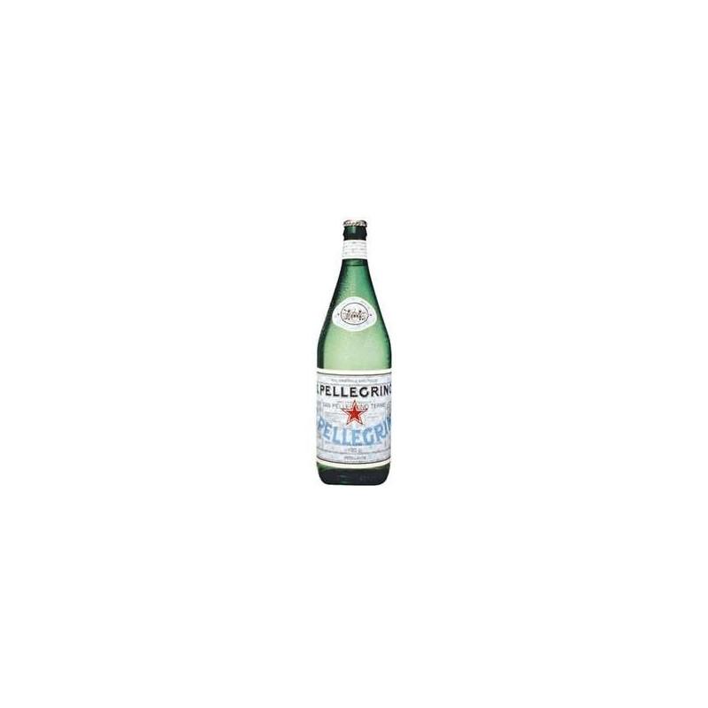 12 bouteilles d 39 eau gazeuse san pellegrino verre consign - Bouteille d eau en verre ikea ...