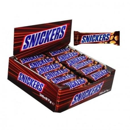 32 Barres Chocolatées de Snickers 32 x 50 G
