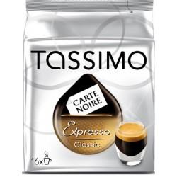 16 T-Discs Tassimo Carte Noire Expresso Classic