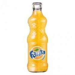 24 Bouteilles en Verre de Fanta Orange 24 x 33 CL